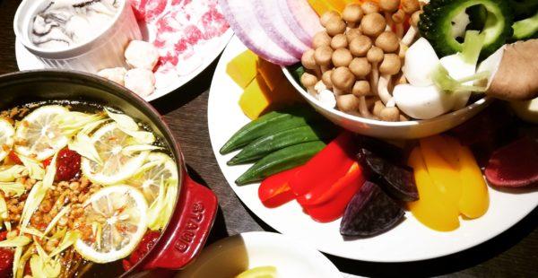 ラボーテの薬膳鍋と「期間限定☆牡蠣鍋」
